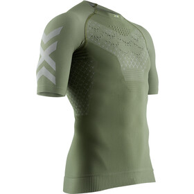 X-Bionic Twyce G2 T-shirt de running Homme, olive green/dolomite grey